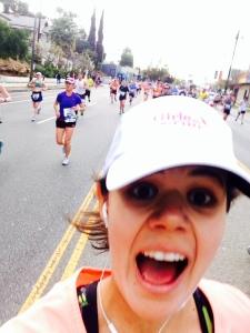 LA Marathon Selfie