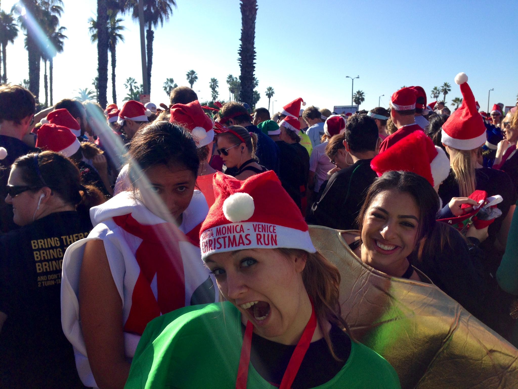 Santa-Monica Venice Christmas Run 10K and 5K Race Review | The ...