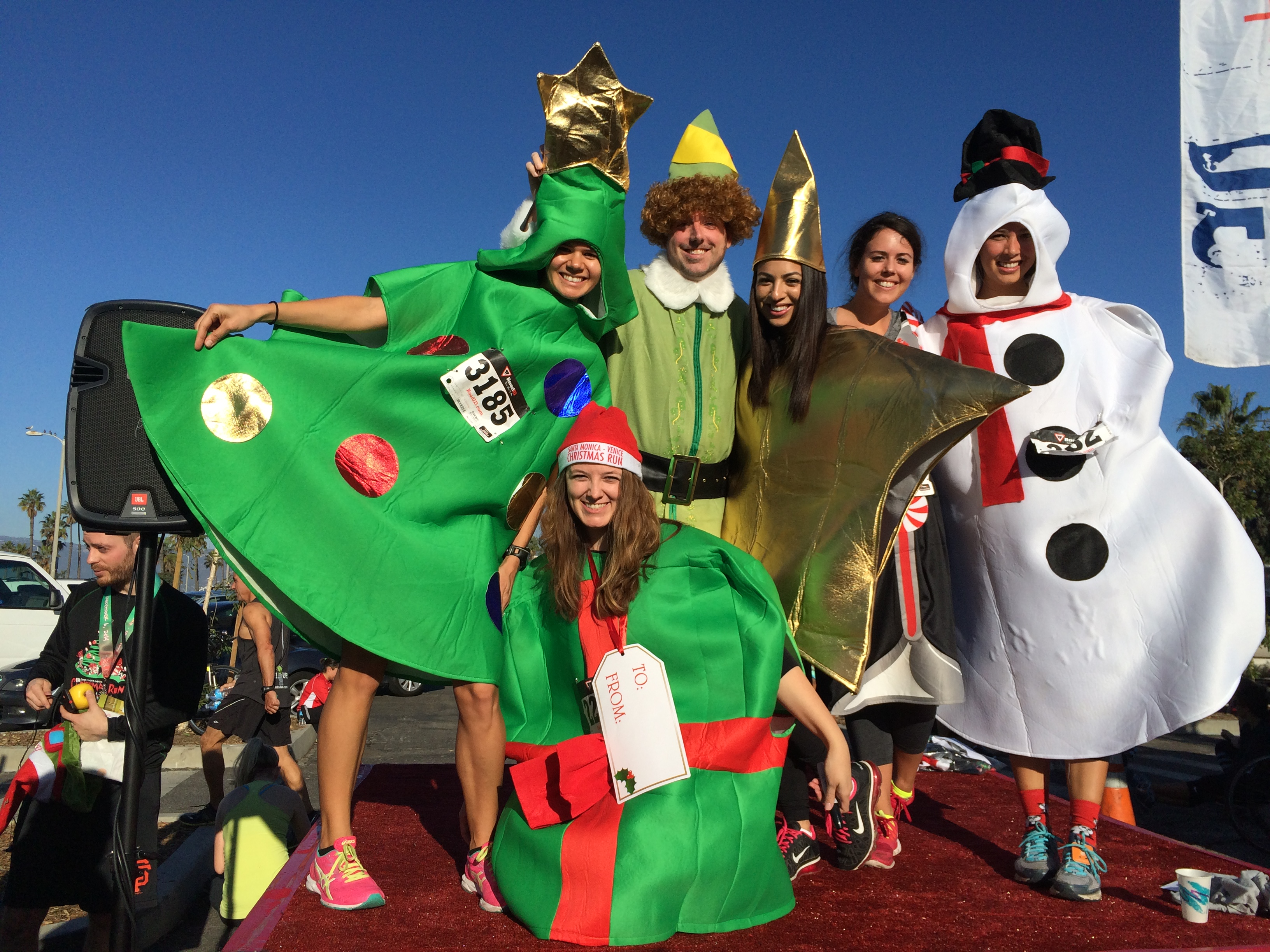 Santa-Monica Venice Christmas Run 10K and 5K Race Review | The ...