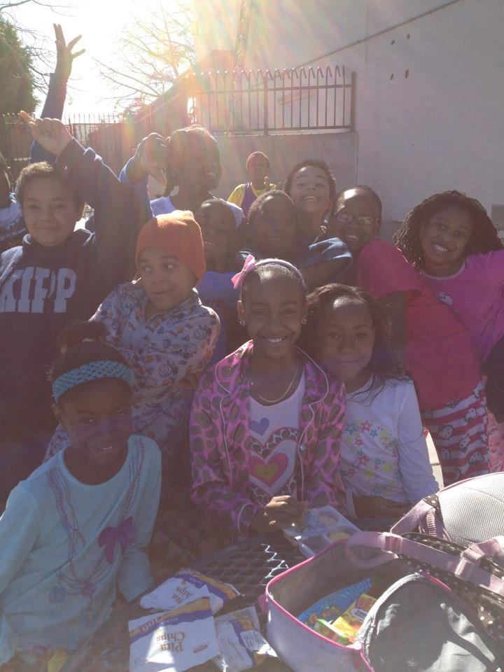Pajama Day in Fifth Grade